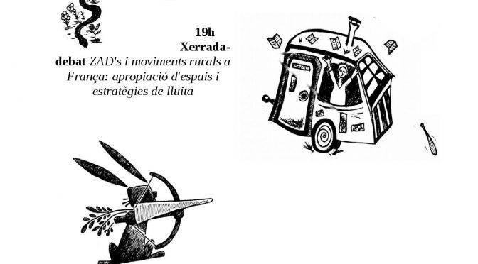 Xerrada-Debat: ZAD i Moviments rurals de frança