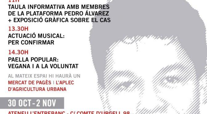 Actes en memòria de Pedro Álvarez